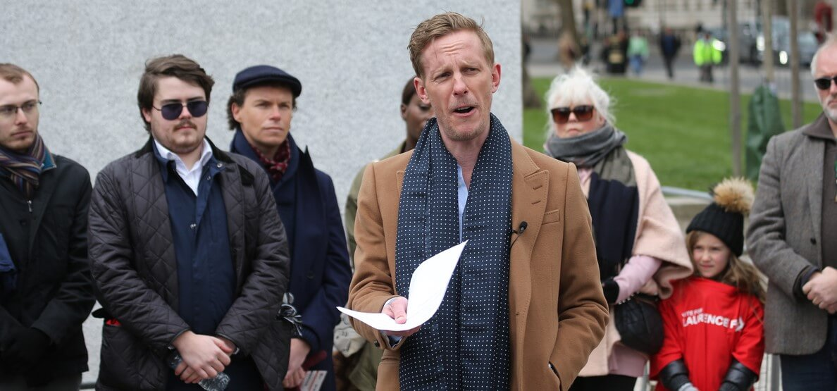 Laurence Fox back to school or not